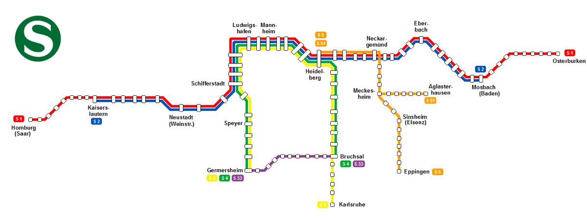 S-Bahn Rhein-Neckar 2012