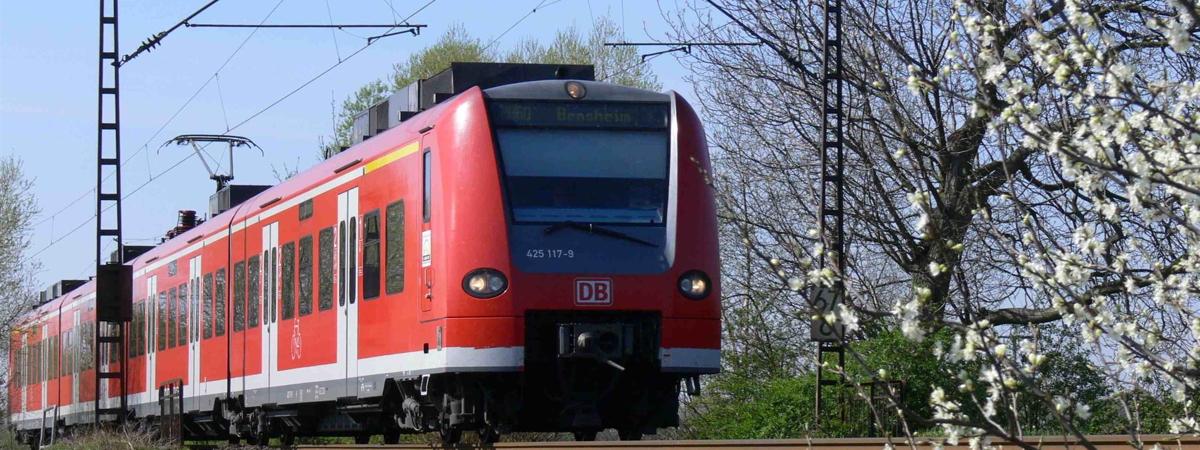S-Bahn nach Bensheim © VRN/DB - Thomas Henne