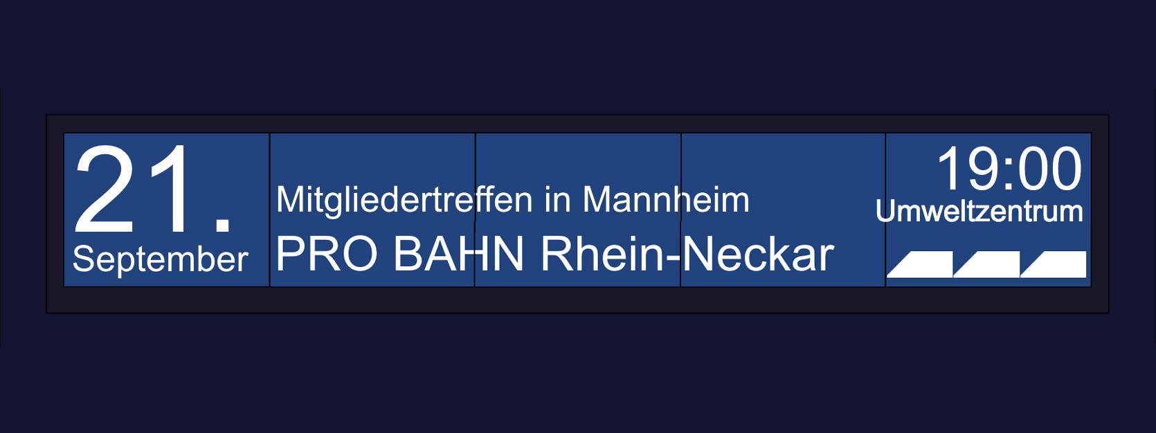 PRO BAHN Rhein-Neckar